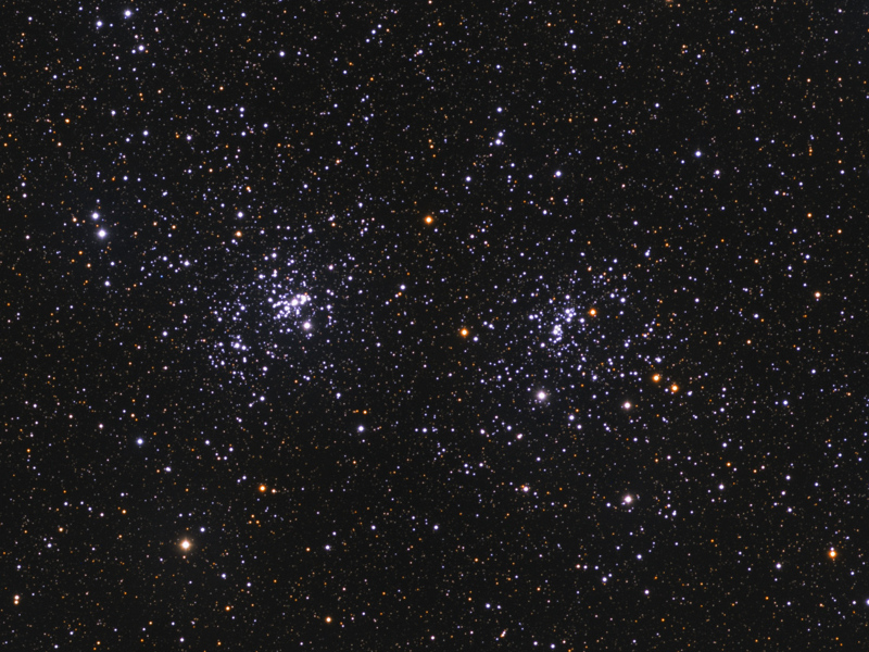 Open Clusters H & Chi Persei